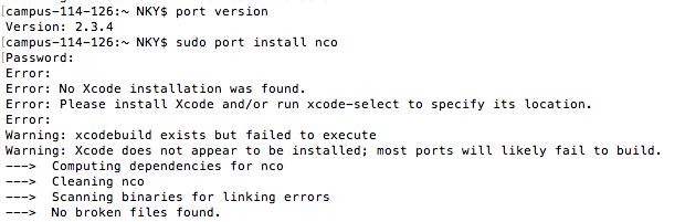 51684 (xcodebuild exists but failed to execute) – MacPorts