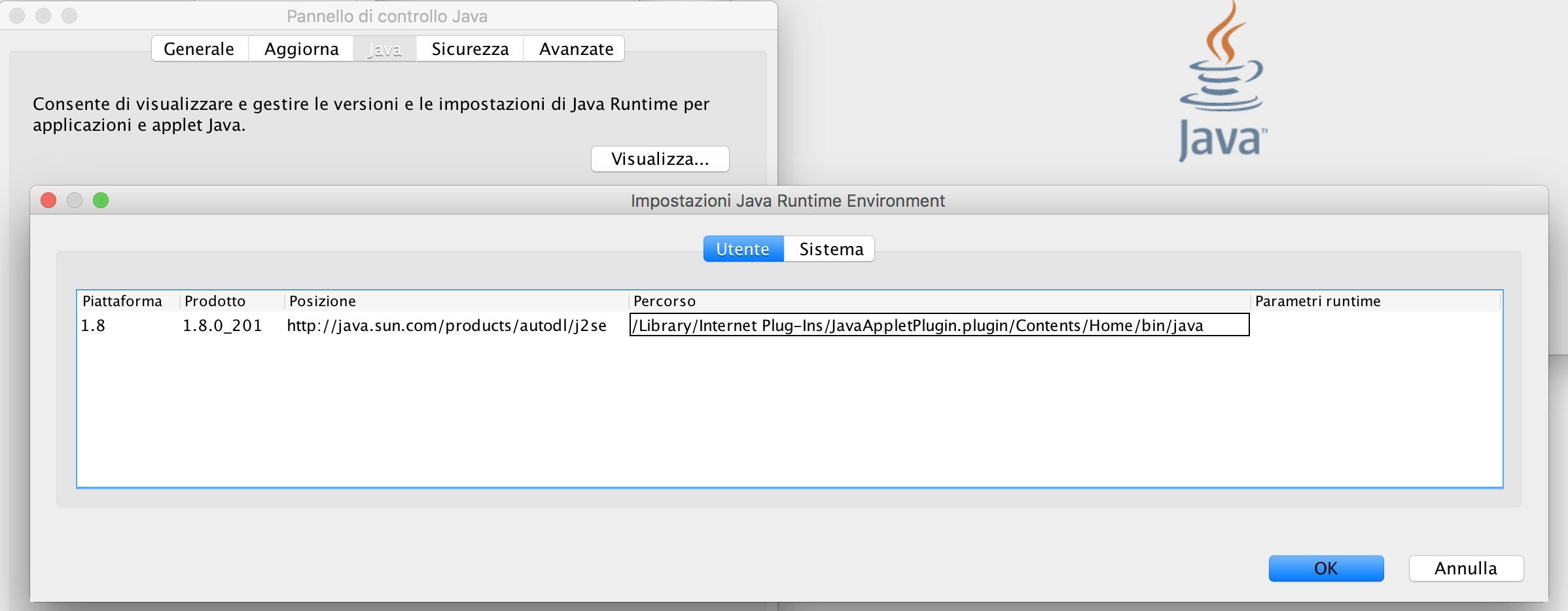 58098 (Install openjdk8 as default JVM) – MacPorts