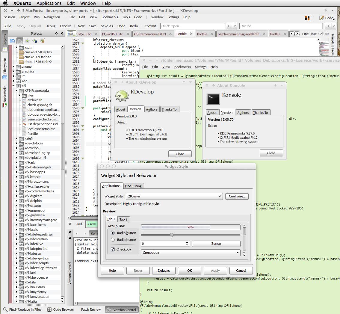 KDEProblems – MacPorts